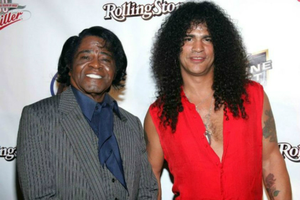 James Brown, Slash