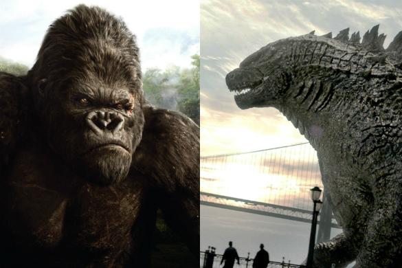 King Kong (2005) / Godzilla (2014)
