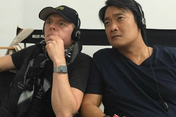 Simon Pegg and Doug Jung