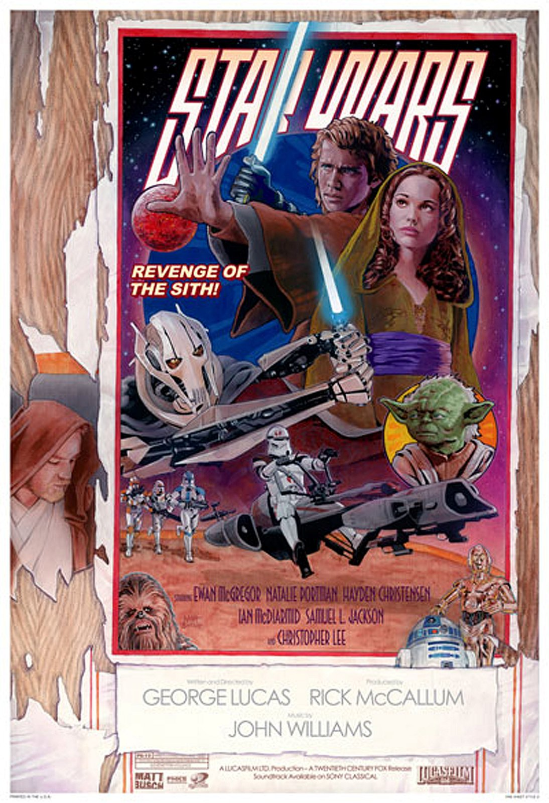 Today In Movie Culture Star Wars Episode Iii Revenge Of The Sith Edition Movie News Movies Com