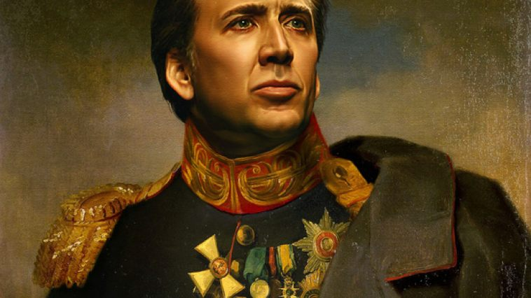 New movie with nicolas cage