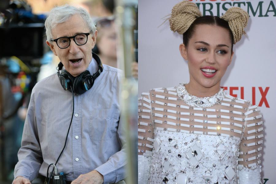 Woody Allen / Miley Cyrus