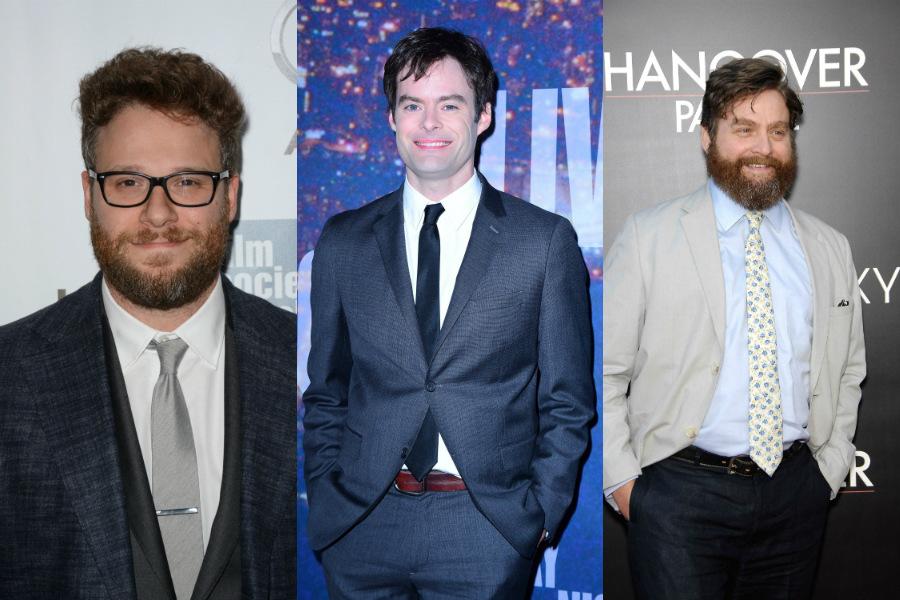 Seth Rogen / Bill Hader / Zach Galifianakis
