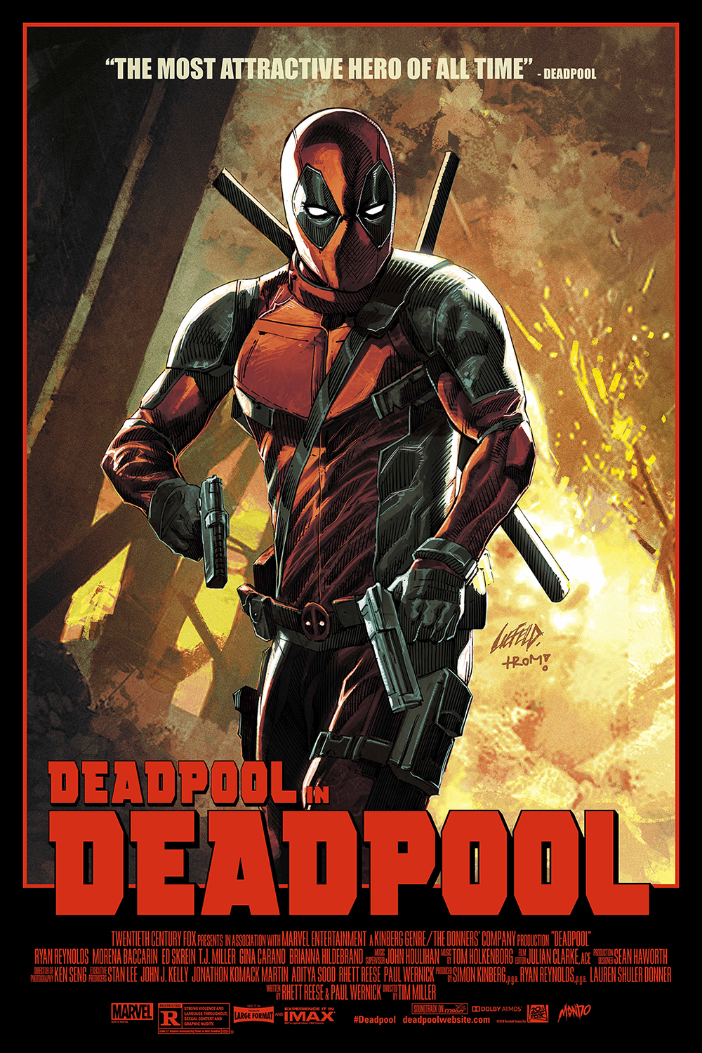 The Creator of 'Deadpool' Made an Awesome Mondo Poster (Exclusive ...