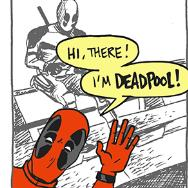 See 'Deadpool' Reviewed in Comic Strip Form
