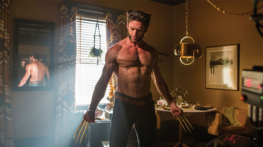 Wolverine days future past naked