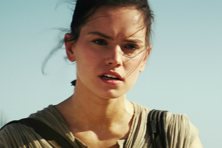 Star Wars  The Force Awakens. Watch an Intense and Tearful Daisy Ridley in Her   39 Star Wars  The