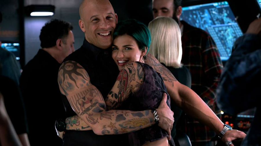 Vin Diesel and Ruby Rose