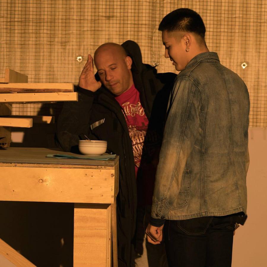 Vin Diesel and Kris Wu