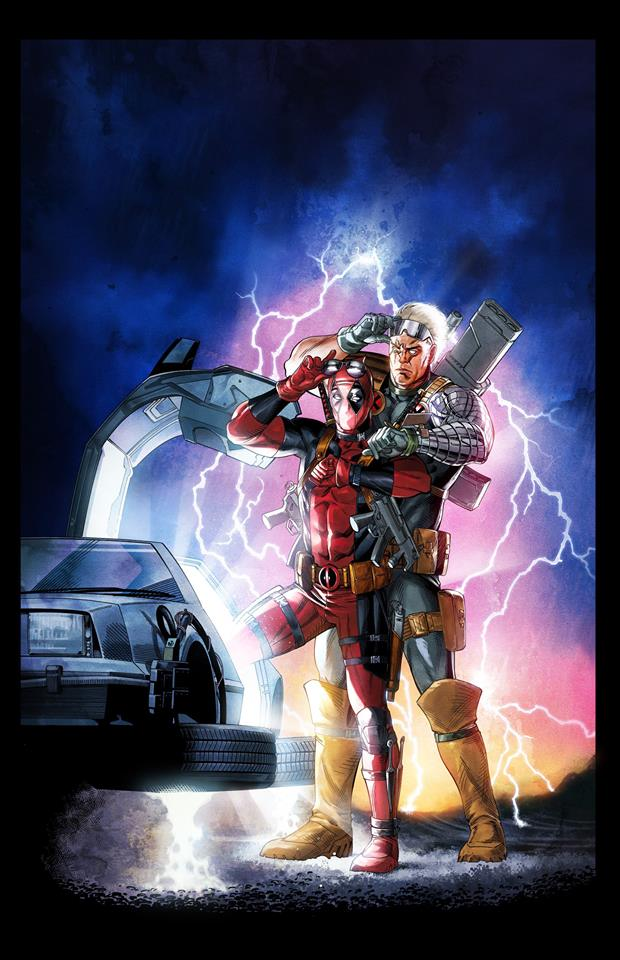 Today In Movie Culture Deadpool Goes Back To The Future
