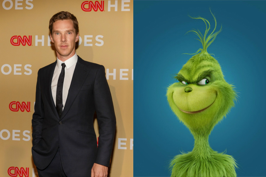 Benedict Cumberbatch / How the Grinch Stole Christmas