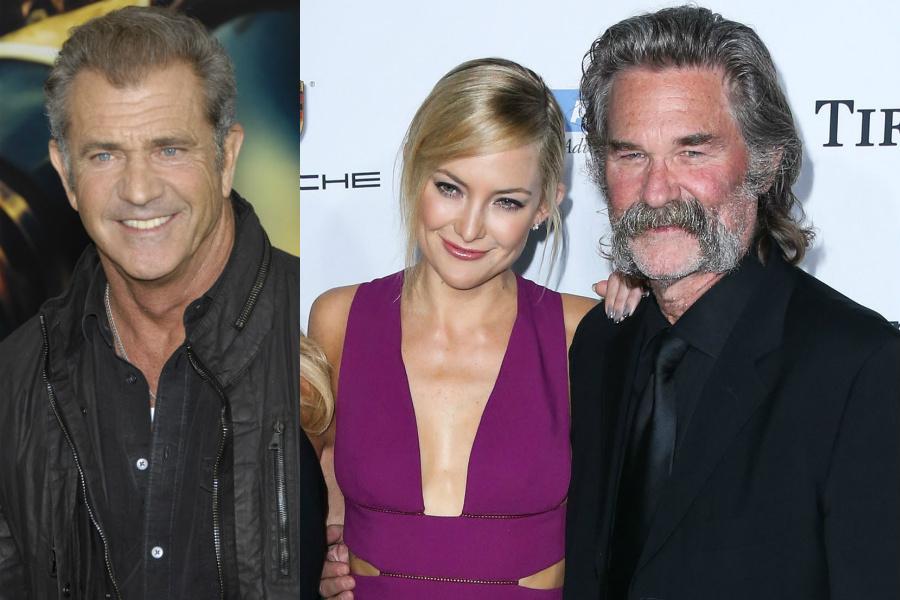 Mel Gibson, Kate Hudson, Kurt Russell