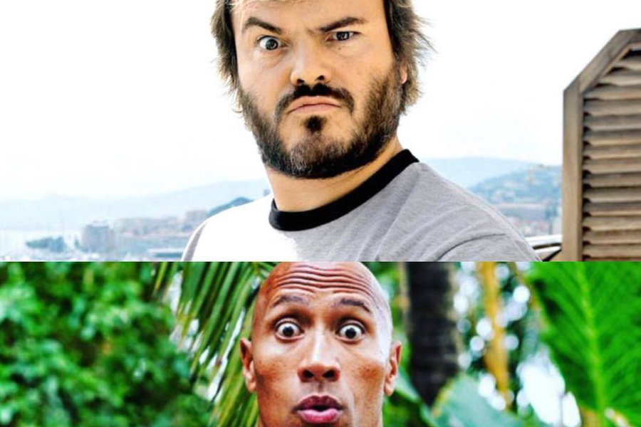 Jack Black / Dwayne Johnson