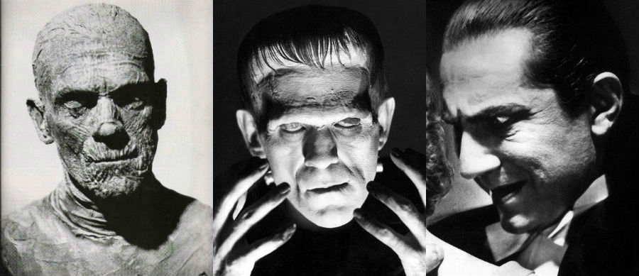 Universal Monsters: The Mummy / Frankenstein / Dracula