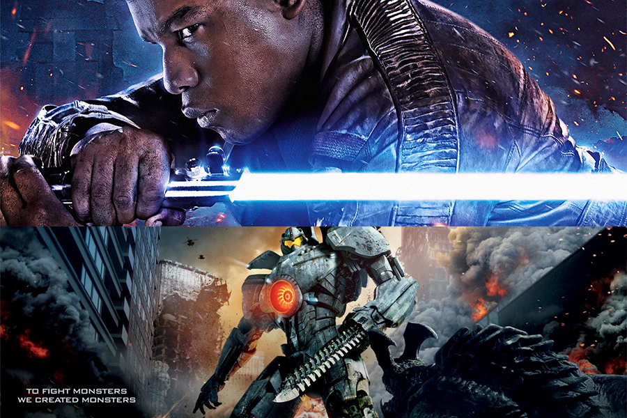 John Boyega in Pacific Rim