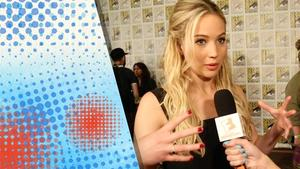 Comic-Con 2015:  The Hunger Games: Mockingjay - Part 2 Red Carpet Interviews