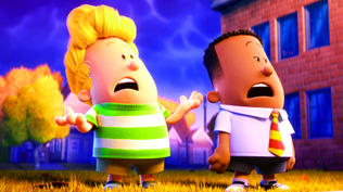 Captain Underpants: The First Epic Movie: Movie Clip - Helps People