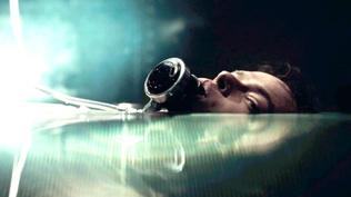 A Cure for Wellness: Movie Clip - Sensory Deprivation Tank