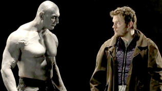 Guardians of the Galaxy: Behind the Scenes - Chris Pratt and Dave Bautista Screen Test