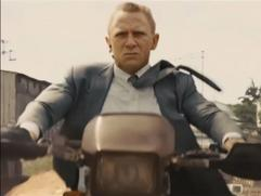 Skyfall: Grand Bizarre Motorbike Chase