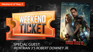 Weekend Ticket with Robert Downey Jr.