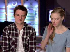 Epic: Amanda Seyfried And Josh Hutcherson On Their Character's Relationship