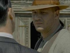 Lawless: Forrest Bondurant And Charlie Rakes Meet (Uk)