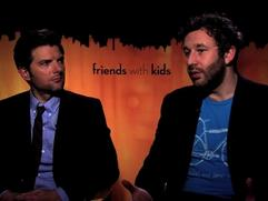 Friends With Kids: Adam Scott & Chris O'dowd Improv On Se