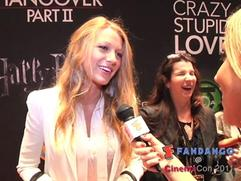 Exclusive: Blake Lively Interview From Cinemacon 2011