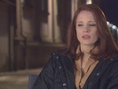 The Debt: Jessica Chastain On Working With Helen Mirren
