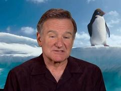 Happy Feet Two: Robin Williams On Ramon