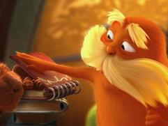 Dr. Seuss' The Lorax: The Lorax And The Animals Surprise The Once-Ler At His House