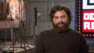 The Hangover Part Iii: Zach Galifianakis On His Character