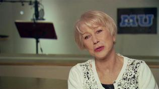 Monsters University: Helen Mirren On Her Character