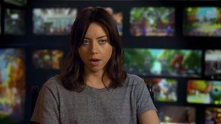 Monsters University: Aubrey Plaza On Her Character