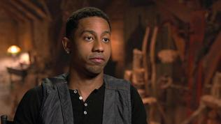 Percy Jackson: Sea Of Monsters: Brandon T. Jackson On His Experience Making The Movie