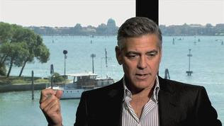 Gravity - George Clooney on Working with Alfonso Cuaron
