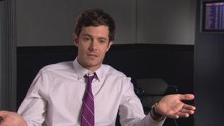 Baggage Claim: Adam Brody On The Humor Of Montana's Plan To Revisit Her Ex-Boyfriends