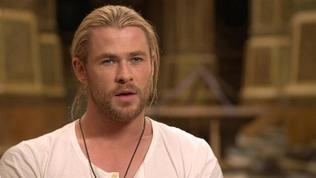 Thor: The Dark World: Chris Hemsworth on Reprising the Role of Thor