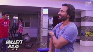 Bullett Raja: Making Of Saif Ali Khan In The Gym (Us Featurette)