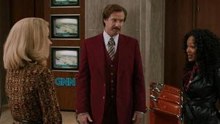 Anchorman 2: The Legend Continues: Touching Moment