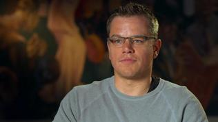 The Monuments Men: Matt Damon On His His Knowledge Of This History