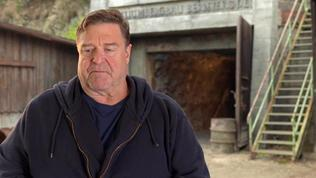 The Monuments Men: John Goodman On His Character