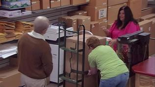 Jackass Presents: Bad Grandpa: Irving Tries To Ship Billy In A Package