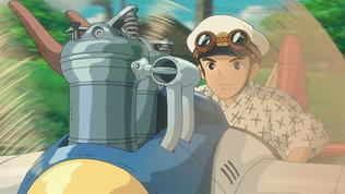 The Wind Rises: Flying Through Town