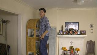 Paranormal Activity: The Marked Ones: Jesse Levitates Off A Chair