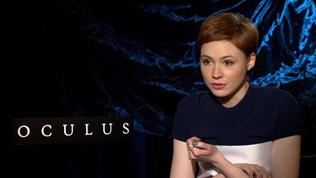 Oculus: Karen Gillan, on Why She Did This Film