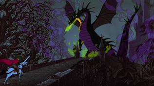 Sleeping Beauty: Fighting The Dragon