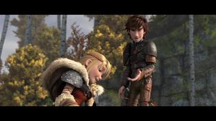 How To Train Your Dragon 2: Hiccup And Astrid