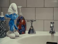 The Smurfs: Dog Chases Clumsy
